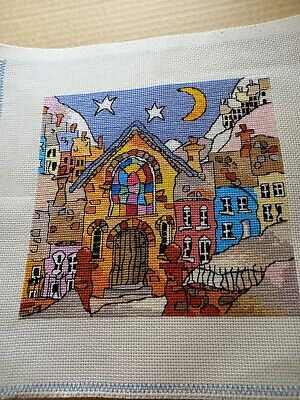 £10 • Buy Finished Completed Cross Stitch - Chapel (Michael Powell Design)
