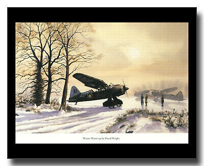 £9 • Buy Westland Lysander Air Sea Rescue RAF 277 Squadron Framed Picture David Wright