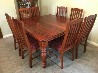 AU350 • Buy 8 Seater Dining Table And Chairs