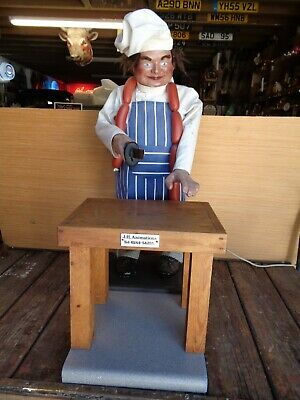£450 • Buy Automaton Jolly Butcher By JH Automations Of Chester