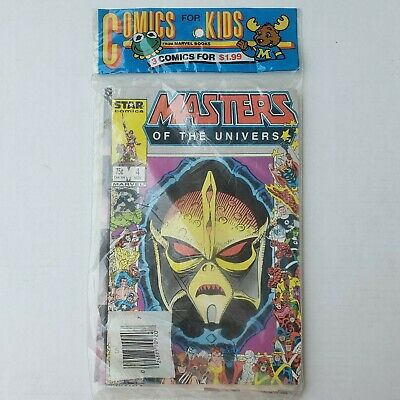 $174.54 • Buy 1987 Star Marvel He-Man Masters Of The Universe 3 4 5 Comics For Kids 3-Pack