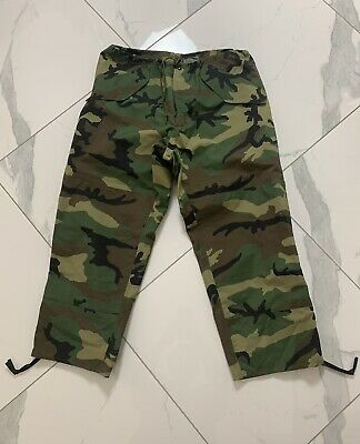 $35 • Buy Military Gore-Tex Camouflage Cold Weather Trousers Hunting Pants Size L