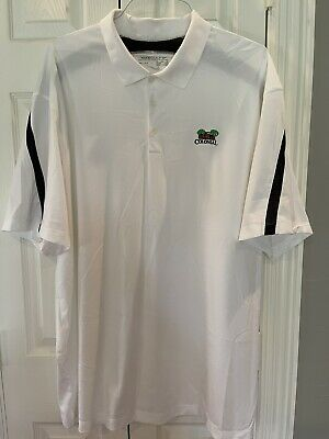 $35 • Buy Nike Dri Fit Mens Golf Shirt 3XL From The Colonial Country Club In Texas