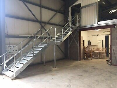 £15 • Buy Fire Escape Staircase , External , Stainless Handrails