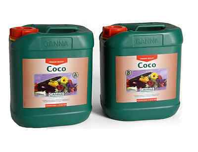 £38.49 • Buy Canna Coco A+B 5L Nutrient Veg & Flowering - 5 Litre - Hydroponics Free Delivery