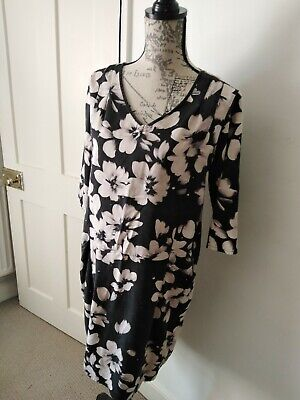 £9 • Buy Braintree Thought Organic Cotton Mix Dress With Pockets Size 12