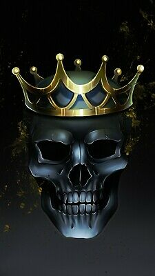 £19.99 • Buy Skeleton Skull King Crown Creepy Dark Home Decor Wall Art Poster/Canvas Picture