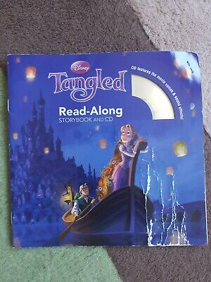 £1.99 • Buy Tangled Read-Along Storybook And CD By Disney Book Group, Disney Storybook