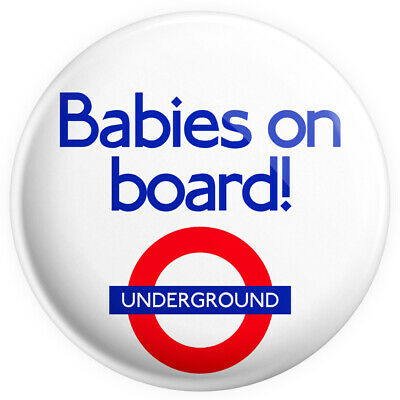 £0.99 • Buy Babies On Board TFL For Twins 38mm / 1.5  Brand New Button Pin Badge