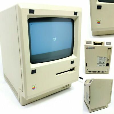 $396.95 • Buy Vintage Apple Macintosh 512k Computer M0001 With Fat Mac 1984 Pc, For Parts