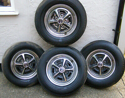 £450 • Buy ROVER P5B ROSTYLE WHEELS 15 Inch Set Of 4 Chrome With Centres. Fits P5 P6 Jensen