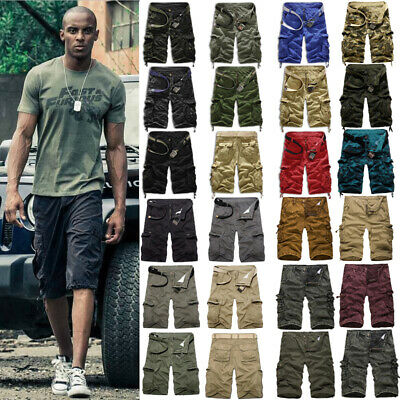 $18.80 • Buy Mens Cargo Military Combat Shorts Pants Summer Casual Workout Tactical Trousers