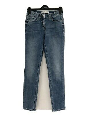 £8.99 • Buy Next Relaxed Skinny Jeans Size 8 Long Mid Blue Denim