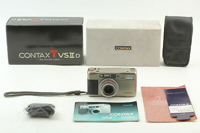 $ CDN881.18 • Buy Data Back [N Mint In Box] Contax TVS II D Point & Shoot 35mm Camera From Japan