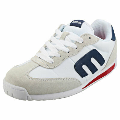 £44.99 • Buy Etnies Lo-cut Cb Womens White Navy Suede & Textile Casual Trainers