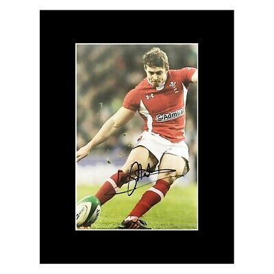 £79.99 • Buy Signed Leigh Halfpenny Photo Display - Wales Rugby Icon Kicker +COA