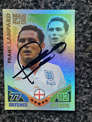 £1.69 • Buy Frank Lampard Signed Match Attack Football Card
