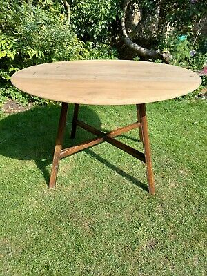 £145 • Buy Ercol Elm Drop Leaf Oval Dining Table