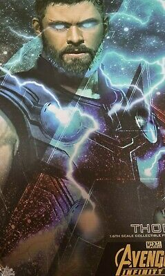 $ CDN314.71 • Buy Hot Toys Thor Avengers: Infinity War MMS474 1:6 Scale Collectible Thor Figure