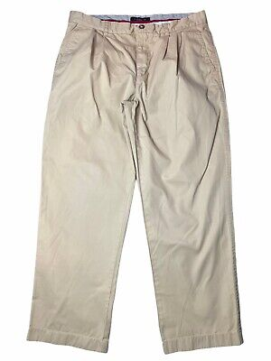 $20.62 • Buy Mens TOMMY HILFIGER Beige Chino Trousers Size W36 L30