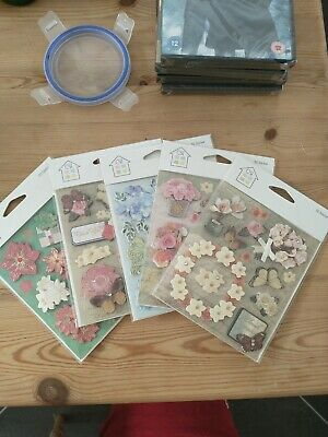 £2 • Buy Cardmaking Craft Supplies - Job Lot Bundle - Brand New (5 Packages)