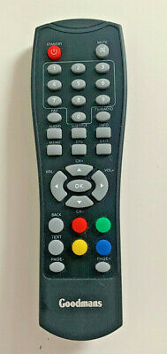 £9.99 • Buy Genuine Goodmans Freeview TV Remote Control - Ref # GD11FVZS1 (34)