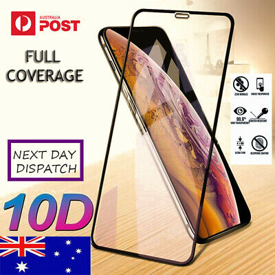 AU2.99 • Buy Tempered Glass Screen Protector Full Cover For Apple IPhone 12 11 Pro Max Mini