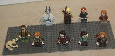 £57.65 • Buy Lego Hobbit Lord Of The Rings Minifigures Lot  Witch King Frodo Legolas Tauriel