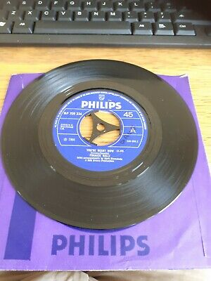 £19.95 • Buy Frankie Valli Youre Ready Now / Cry To Me Vg+ Philips Northern Soul Vinyl Co Sle