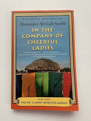 AU6.12 • Buy In The Company Of Cheerful Ladies Alexander McCall Smith No. 1 Ladies' Detective