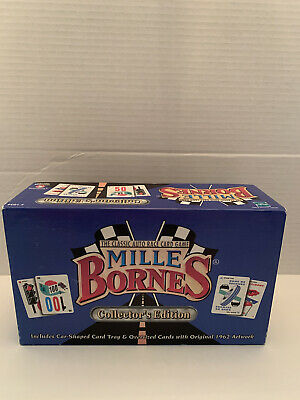 $9.99 • Buy Mille Bornes Classic Auto Race Card Game Collectors Edition Used Hasbro