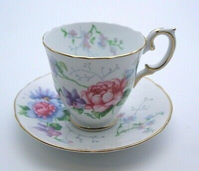 £9.99 • Buy Fine Bone China Crown Staffordshire Cup & Saucer - Englands Glory - Perfect