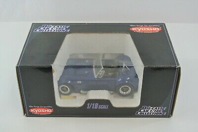 £109.07 • Buy Kyosho Shelby Cobra 427S/C Blue Diecast Car #7006 Of 9800 1:18 Scale China EX!