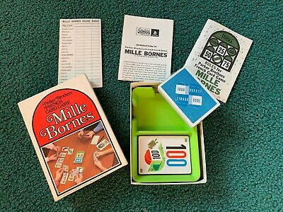 $1 • Buy 1971 Mille Bornes Card Game - New - Never Used
