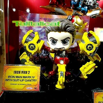 $ CDN100.70 • Buy Marvel Hot Toys Iron Man 2 COSB868 Iron Man Mk IV With Suit-Up Gantry Cosbaby