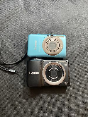 £21.73 • Buy Lot Of 2 Canon PowerShot A810 And Sd1200 Digital Camera ******Both Untested****