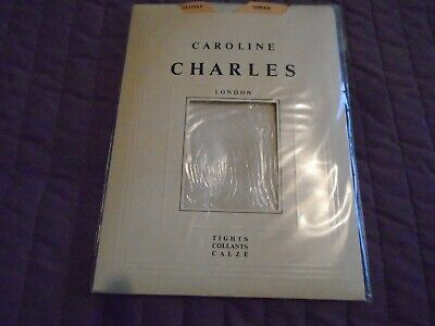 £2.50 • Buy Caroline Charles London For Aristoc Tights Size 3 In Pearl