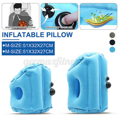 AU15.11 • Buy AU Inflatable Pillow Rest Cushion Travel Air Camping Hiking Support Mat Sleeping