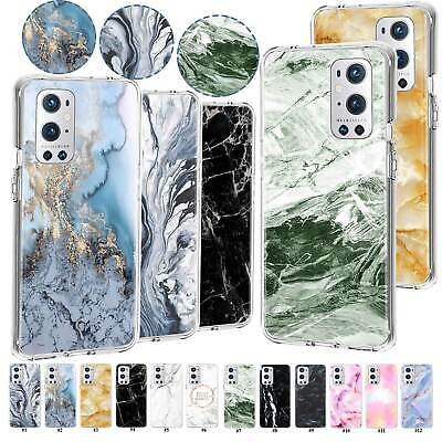 AU7.47 • Buy Marble Shockproof TPU Case Cover For OnePlus Nord N200 5G 9R 9 7T Pro 8T Plus 6T