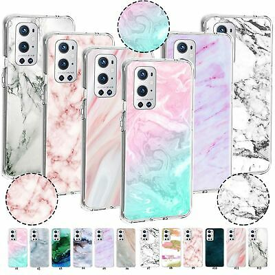 AU7.43 • Buy For OnePlus Nord N10 5G 5T 6T 7T Pro 8T Plus 9 9R Marble Texture Soft Case Cover