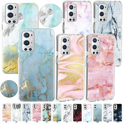 AU7.50 • Buy Stylish Marble Case Cover For OnePlus Nord 100 5G 7T 6T 5T 8T Plus 9R 9 Pro 3/3T