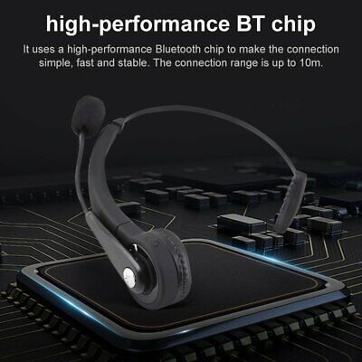 £17.99 • Buy Wireless Bluetooth Headset Headphone Office Call Center With Microphone For PC