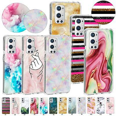 AU7.50 • Buy For OnePlus Nord N10 5G 5T 6T 7/8 Pro 8T Plus 9 9R Arts Glossy Marble Case Cover