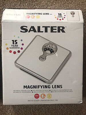 £9 • Buy Salter Magnifying Lens Weighing Scales BRAND NEW IN BOX
