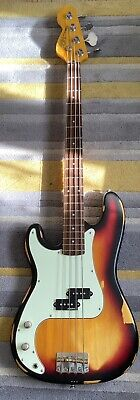 £139 • Buy Left Handed Vintage Icon Distressed P Bass
