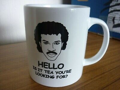£20 • Buy 6 Lionel Richie Mug. Hello Is It Tea You're Looking For? With Boxes