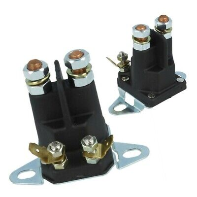 £8.99 • Buy 4Pole Solenoid Fits Many  Lawn Tractor Ride On Mower 1134-2946-02  18736100/0 UK