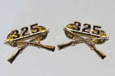 £15 • Buy Us Army 325th Glider Infantry Regiment Collar Badges Insignia Pair As Wwii
