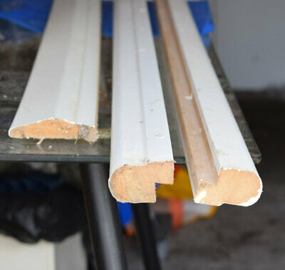 £0.99 • Buy Two Lengths Of B&Q Cornice For Kitchen Cabinets