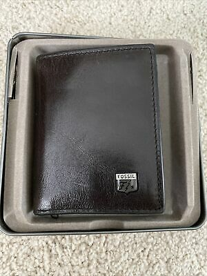 $19.99 • Buy Fossil Trifold Wallet Jesse Trifold Wallet CH002784
